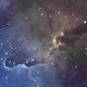 Elephant's Trunk Nebula/IC 1396,                                John Kroon