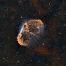 The Crescent Nebula NGC6888,                                Stan Smith