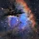Inside The Pacman Nebula (NGC 281) - HA + OIII + SII + NII,                                Jim Matzger