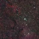 IC1396 during full moon,                                Philipp Weller