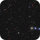NGC 2419 and NGC 2424 in Lynx,                                Nurinniska