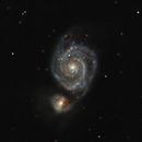 Première M51 au C8 le 7 mai 2015,                                Laurent3112