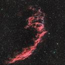 NGC 6995 Eastern Veil Nebula,                                Astronomiste