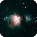 M42 Orion Nebula,                                Justin Worden