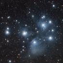 M45, l'amas des Pléiades, le 5 décembre 2015,                                Laurent3112