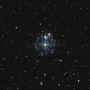 Cats Eye Nebula,                                burble