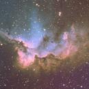 Wizard Nebula (NGC 7380),                                Dave Swenson