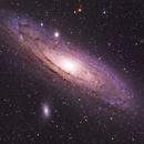 M31, the big Andromedae galaxy,                                  Gianni Cerrato
