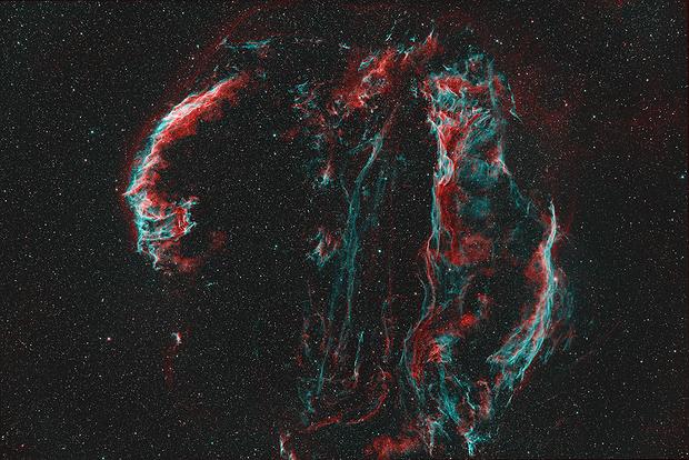The Veil Nebula,                                Gabe Shaughnessy