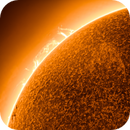 Sun with Sunspot 2859 rolling in to view with plasma and surface filaments,                                Andreas Nilsson