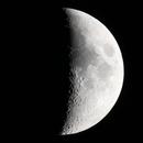 Moon from 2017-07-29 with MTO 1000 F/10 Mirrorlens,                                Norbert Reuschl