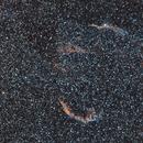 The Eastern and Western Veil Nebulae At 200mm,                                Josh Woodward