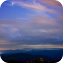 Mountains with Clouds, Milky Way, Jupiter,                                Donnie Barnett