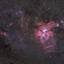 Carina, Liberty nebulae & friends,                                Jean-Baptiste Auroux