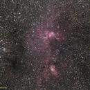NGC 3576 / NGC 3603,                                Uri Abraham