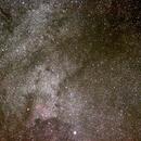 Nordamerikanebel NGC7000 in der Milchstr.,                                Mi.Holzner