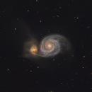 M 51: The Whirlpool Galaxy,                                Glenn Diekmann