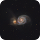 M 51: The Whirlpool Galaxy,                                Glenn Diekmann