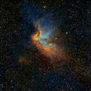 NGC 7380, Wizard Nebula, Hubble Palette,                                Eric Coles (coles44)