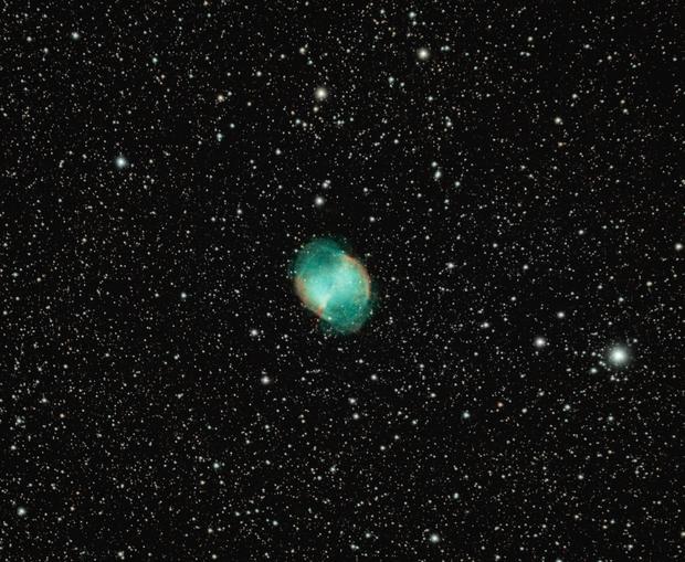 M 27 Dumbell Nebula,                                Hubble_Trouble