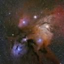 Rho Ophuichi Cloud Complex,                                Patrick Hsieh