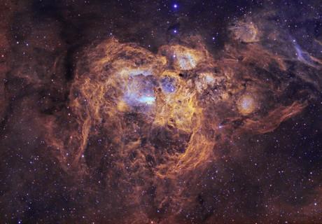 NGC6357 - War and Peace Nebula,                                Janco