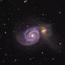 M51 - Whirlpool Galaxy - LRGBHa,                                Satwant Kumar
