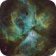 Great Carinae Nebula (Narrow Band) - Processing by Fernando Pinheiro,                                Eduardo Oliveira