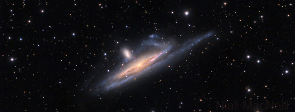 NGC 1532, a distorted edge on spiral galaxy in Eridanus,                                Niall MacNeill