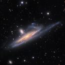 NGC 1532, a distorted edge on spiral galaxy in Eridanus,                                Niall MacNeill