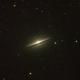 M104 - Sombrero galaxy,                                Ricardo L Pinto