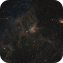 IC 417 - 'Spider and the Fly' from Deep Sky West, NM,                                Steve Milne