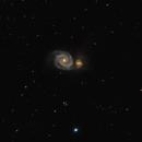 M51-Whirlpool galaxy,                                gibran85