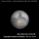 MARS -ROTATION- 2020/11/01 19:30-20:15 UT,                                Antonio Vilchez
