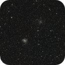 NGC 6946 - The Fireworks Galaxy and NGC 6939,                                Benny Colyn
