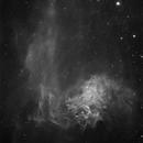 IC405 ha,                                Steve Ibbotson