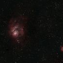 Lagoon Nebula,                                Bianca