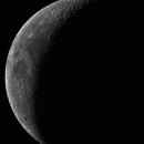 MOON (Waxing Crescent , 23.7 % illuminated),                                Jaime Felipe Ramírez Narváez