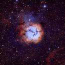 M20 Trifid Nebula in Narrowband,                                alistairsam