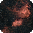 IC 1805 HaRGB Widefield with DSLR,                                FrostByte
