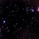 Flame & Orion nebulae,                                omar salah