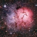 Trifid Nebula - Web Quality,                                Andre