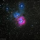 nebulosa trífida,                                Luciano Gomes