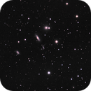 Hickson Compact Galaxy Cluster 44 (HCG44) - aka The Leo Quartet drizzled x2 & cropped,                                Pam Whitfield