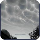 Mammatus clouds over mine observatory,                                Uwe Meiling