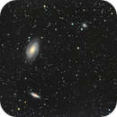 Bode's Galaxies with NGC 3077,                                Madratter