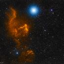 IC63 & IC59 - The Ghosts of γCas,                                Vincent Savioz