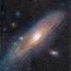M31- The Andromeda Galaxy (4 Panel Mosaic),                                Randal Healey