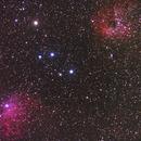 NGC 1893, IC405,                                icio