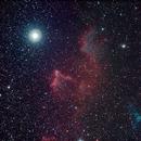 Gamma Cass Nebula,                                Robin Clark - EAA imager